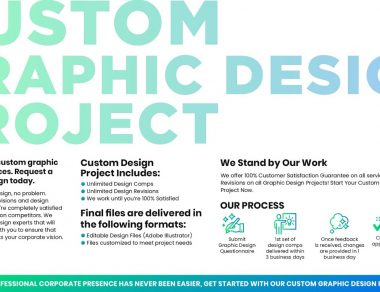"""Custom Graphic Design Project """