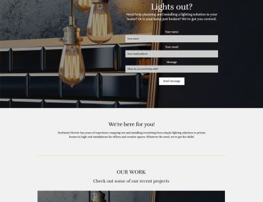 Mono: 5-Page Templated Website